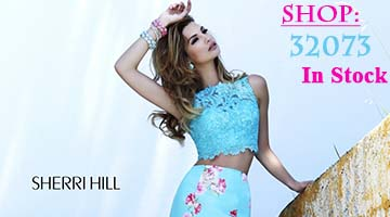 Sherri Hill 32073 back in stock at Peaches Boutique