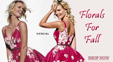 Sherri Hill Florals for Fall 2015