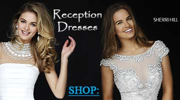 Shop Wedding Reception Dresses at Peaches!
