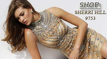 Shop Sherri Hill 9753 at Peaches in Chicago
