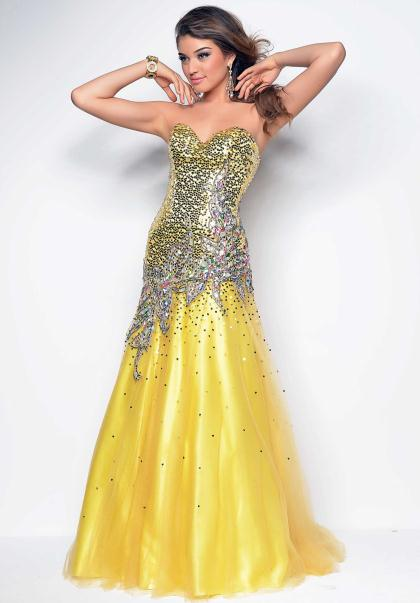 Yellow Prom Dresses Peaches Boutique 109