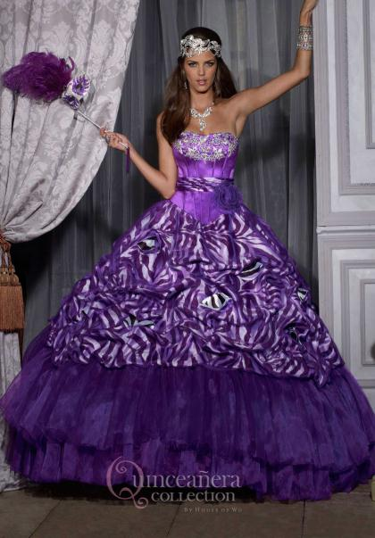 Similiar Purple Zebra Prom Dresses Keywords