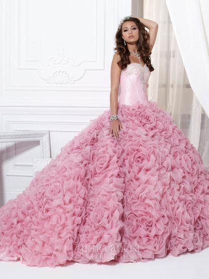 Peach Quinceanera Dresses 2013 - Missy Dress