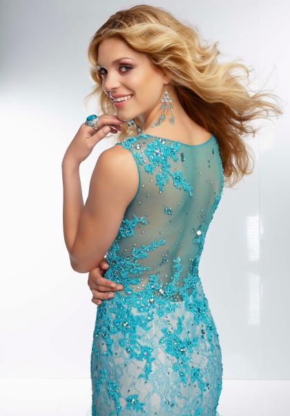 Download this Mori Lee Sexy Lace... picture