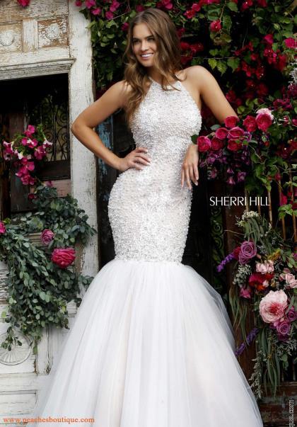 Gorgeous Beaded Sherri Hill Dress 32316