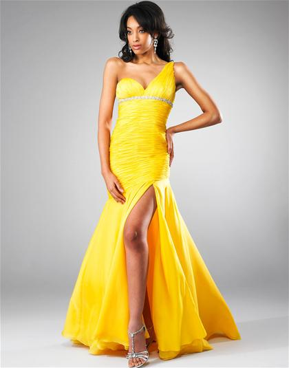 Yellow Prom Dresses Peaches Boutique 3