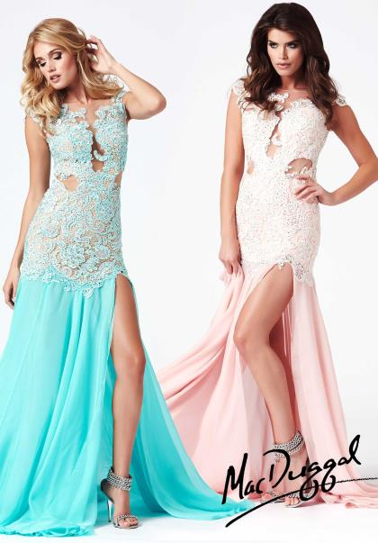 61041R - Aqua/Nude and Blush/Ivory