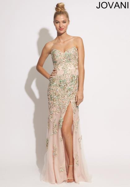 Similiar Jovani Evening Dress Champagne Keywords