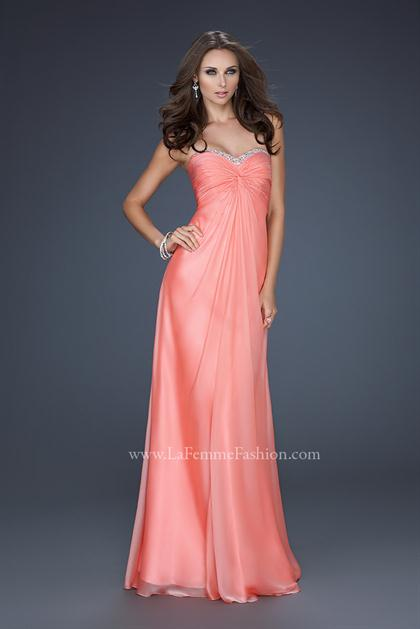 Salmon Colored Prom Dress – images free download
