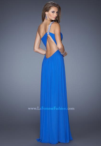 Short Prom Dresses Electric Blue 61