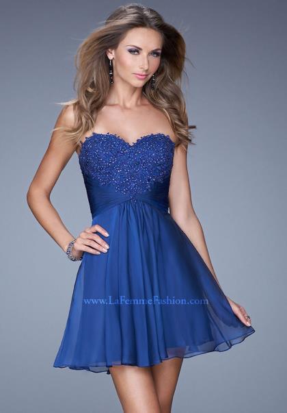La Femme Short Dresses - KD Dress