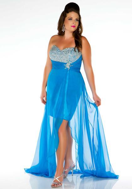 Cassandra Stone Plus Size Prom Dresses 65