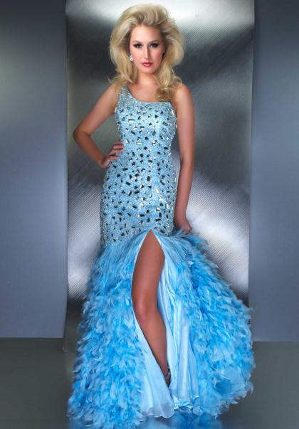 MacDuggal Couture Dress 61121D at Peaches Boutique