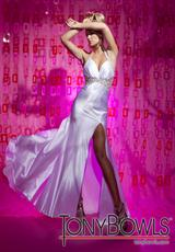 Tony Bowls Le Gala 112518.  Available in White