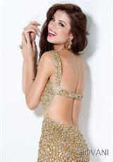 Jovani 171100.  Available in Gold/Nude, Grey/Silver, Hot Pink, Hunter, Purple/Nude, Red/Nude, Rose/Gold