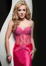 Jasz Couture 4901.  Available in Fuchsia, Gold