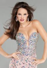 Jovani 944.  Available in Aqua, Black, Black/Black, Blush, Fuchsia, Red/Red, White