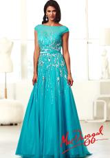 MacDuggal 10011H.  Available in Nude, Passion Pink, Turquoise