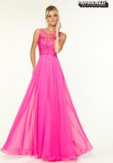 Mori Lee 97129.  Available in Emerald, Hot Pink