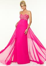 Mori Lee 97131.  Available in Fuchsia
