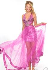 Precious Formals L55184.  Available in Fuchsia, Gold