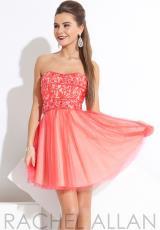 Rachel Allan Princess 2783.  Available in Black/Royal, Watermelon/Nude