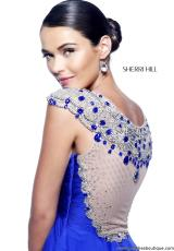Sherri Hill 11076.  Available in Coral, Emerald, Red, Royal, Turquoise