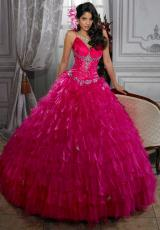 Tiffany Quinceanera 26675.  Available in Apple Green, Fuchsia