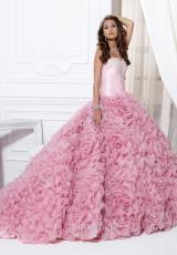 Tiffany Quinceanera 26702.  Available in Coral, Fuchsia, Ivory, Rose, White
