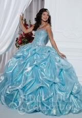 Tiffany Quinceanera 26736.  Available in Aqua, Rose Pink