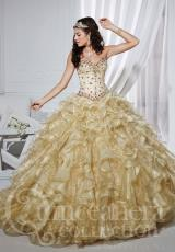 Tiffany Quinceanera 26744.  Available in Gold, Silver
