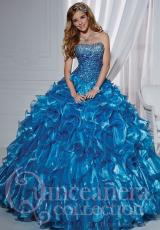 Tiffany Quinceanera 26745.  Available in Purple, Turquoise, White