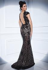 Tony Bowls Evenings TBE21400.  Available in Black/Nude