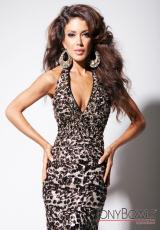 Tony Bowls Evenings TBE11316.  Available in Black/Nude