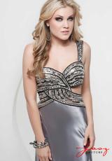 Jasz Couture 4866.  Available in Ice Grey