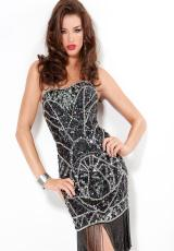 Jovani Cocktail 6577.  Available in Black