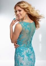 Mori Lee 95067.  Available in Black, Champagne, Turquoise