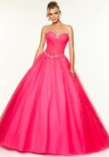 Mori Lee 97117.  Available in Coral, Pink Panther