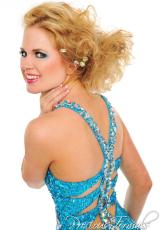 Precious Formals P46632.  Available in Turquoise