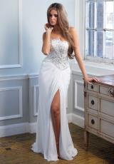 Terani Evenings E1814.  Available in Ivory