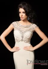 Tony Bowls Evenings TBE11428.  Available in Nude