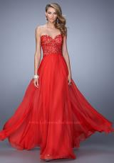 La Femme 21394.  Available in Black, Electric Blue, Red