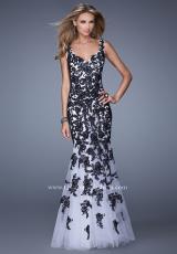 La Femme 21192.  Available in White/Black