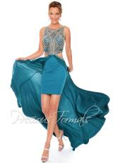 Precious Formals L53003.  Available in Dark Navy, Teal