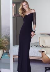 Alyce 6338.  Available in Black, Emerald, Ivory/Gold