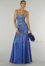 Alyce 6360.  Available in Royal/Turquoise