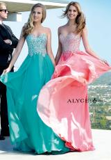 Alyce 6409.  Available in Diamond White, Jade, New Coral, Sapphire