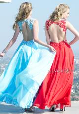 Alyce 6418.  Available in Coral/Nude, Daffodil/Nude, Emerald/Nude, Ivory/Red, Red/Nude, Sky Blue/Nude