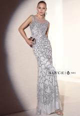 Alyce 5670.  Available in Silver