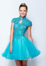 Terani 151P0024.  Available in Ivory, Turquoise
